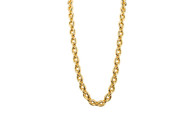 Large Link Necklace - Gold & Honey