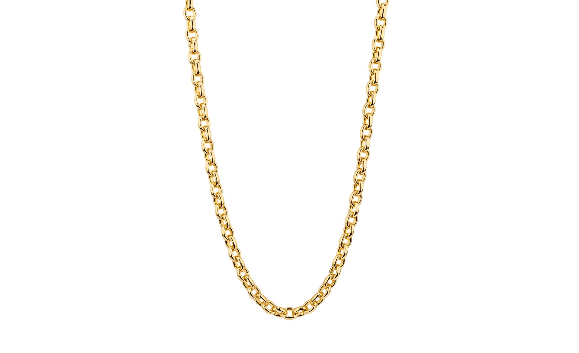 Small Link Necklace - Gold & Honey