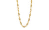 Medium Link Necklace - Gold & Honey