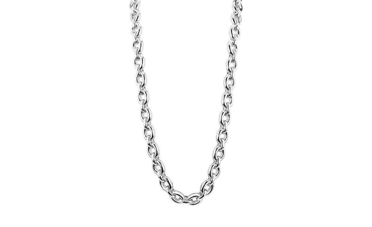 Large Link Necklace silver