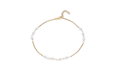 Multi Station Opal Anklet