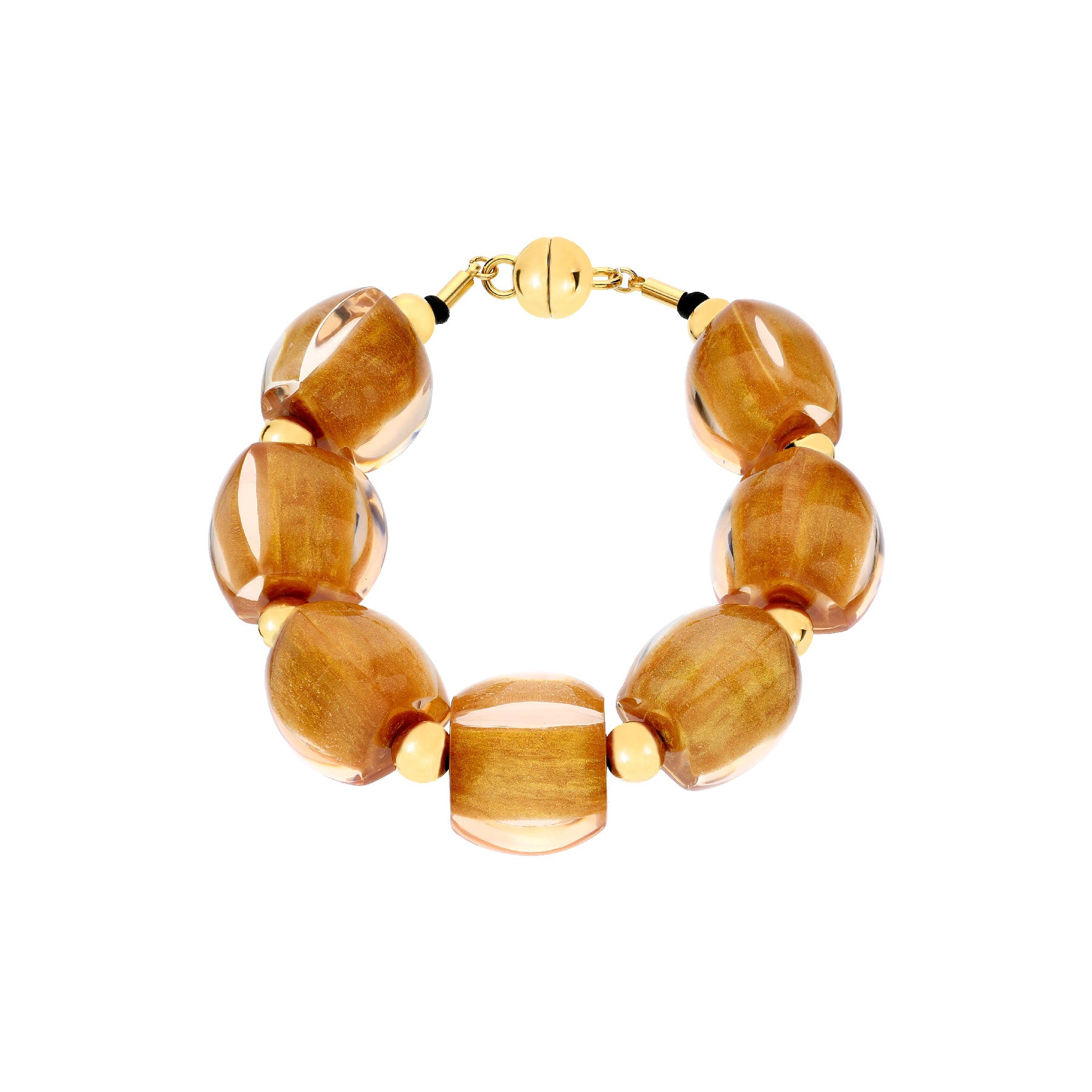 Beaded Lucite Bracelet <br> (More Colors Available)