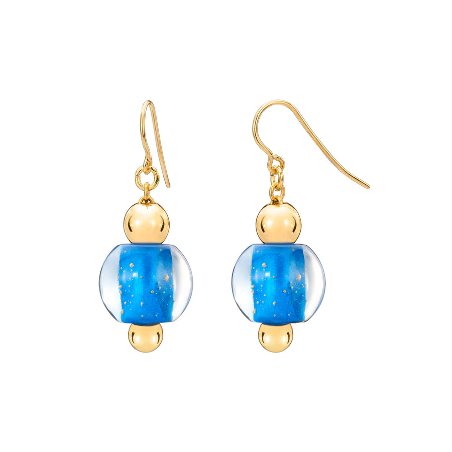 Mini Bead Lucite Earrings