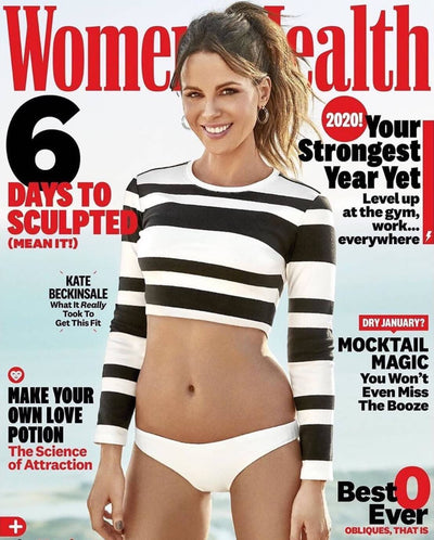 Thin Lucite Hoops Women's Health Magazine