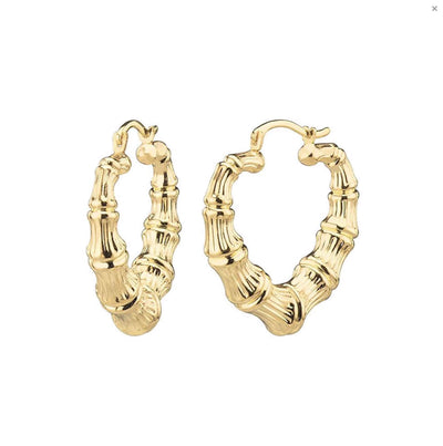 MINI BAMBOO HOOPS - GOLD