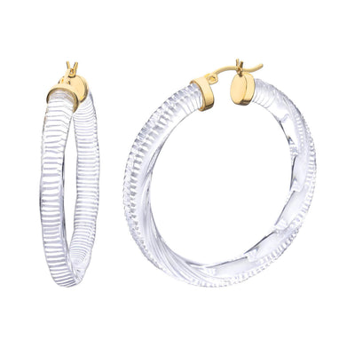 Clear Instyle Hoop