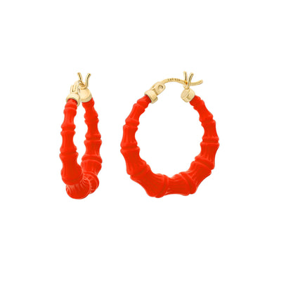 Mini Bamboo Hoops - FIESTA