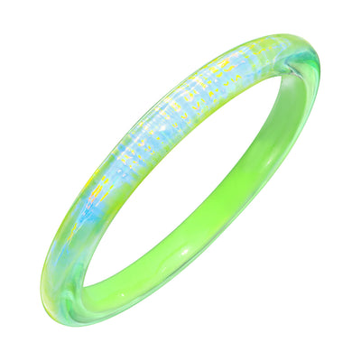 Rave Slip On Bangle in GREEN