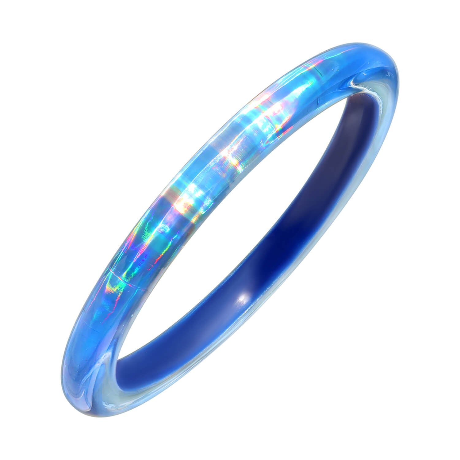 Rave Slip On Bangle in BLUE