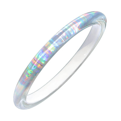 Rave Slip On Bangle in WHITE