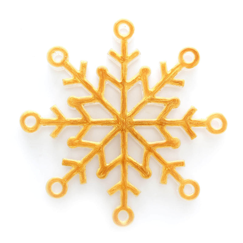 Snowflake Ornament in Gold