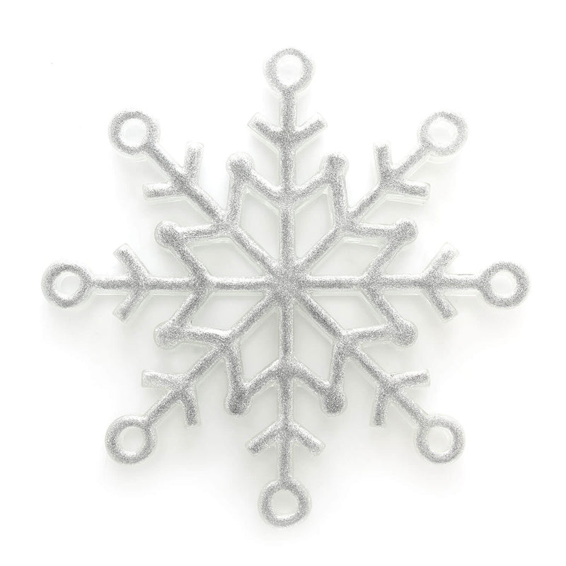 Snowflake Ornament in Silver