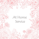 At Home Service - refundable booking fee