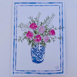 Gift Card - Flowers in a vase