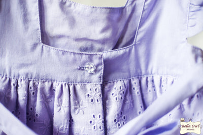 FRILLY, Sweet Lavender Dress for Infants & Toddlers