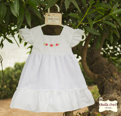 FRILLY, Snow White Dress for Infants & Toddlers