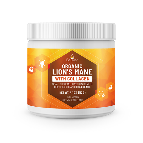 Lion's Mane with Collagen Powder