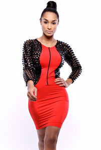 Classic Extreme Bodycon Club Dress