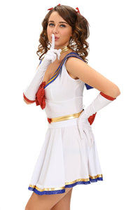 5pcs Anime Sailor Heroine Costume