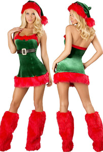 3pcs Santa Envy Christmas Costume