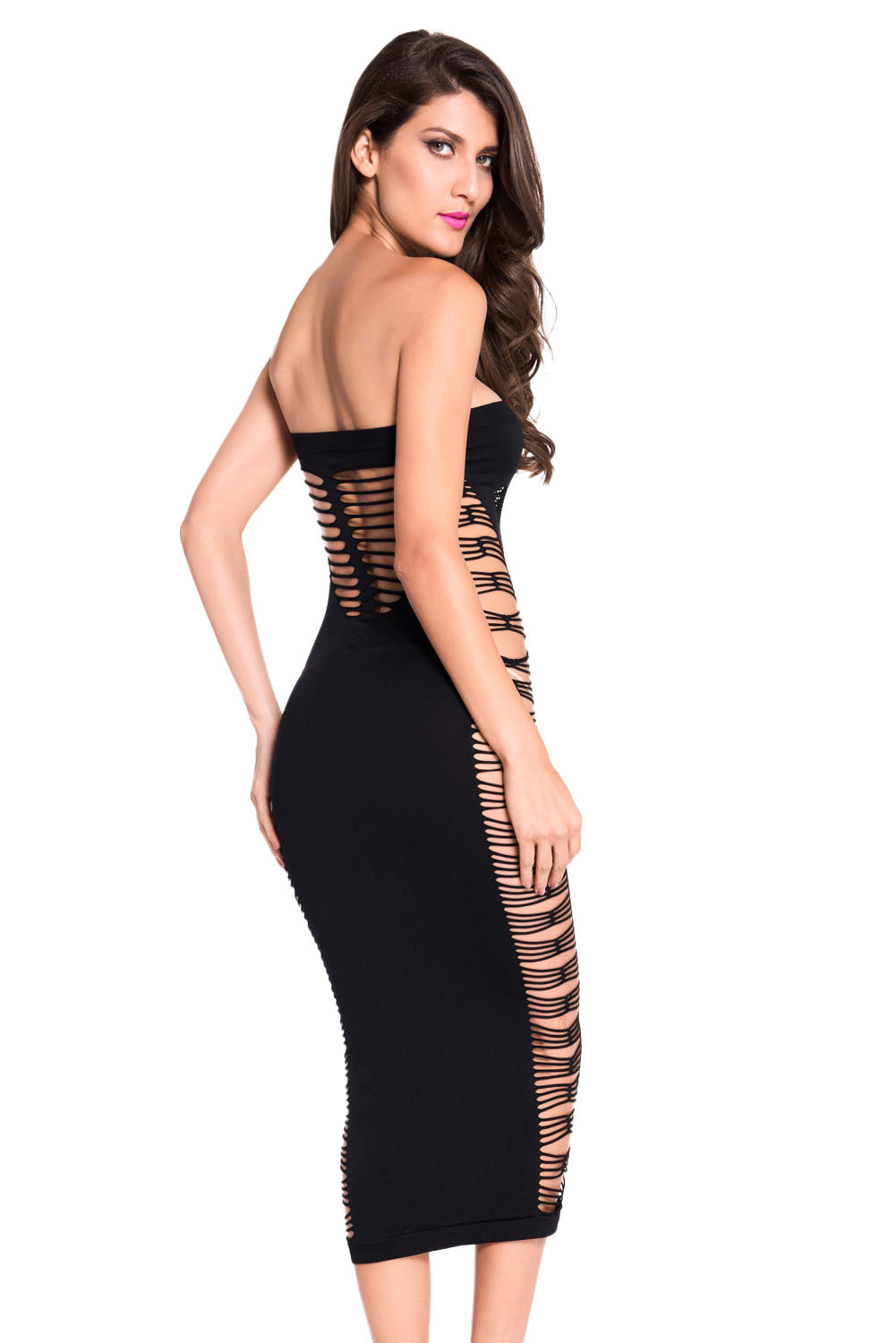 e679bafce0d Sexy Big Spender Long Black Tube Dress – SEXY AFFORDABLE CLOTHING