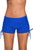 Blue Adjustable Ties Swim Bottom Shorts