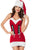 Christmas Babe Halter Dress Costume