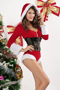 Holiday Romper Lingerie Costume