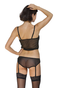 Mesh Cami Top and Panty Set