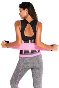 Pink Power Belt Fitness Waist Trainer