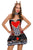 Sexy 2pcs Sexy Queen of Hearts Cosplay Costume