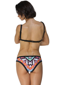Sexy Beach Gypsy Scuba Triangular Bikini Swimsuit