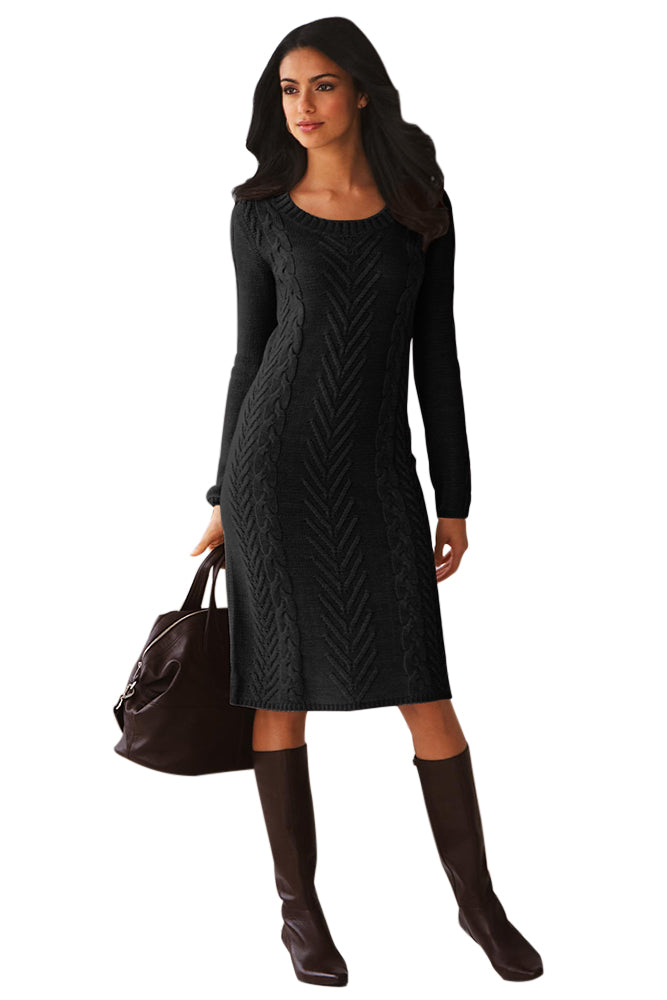 f080bde1beeb Sexy Black Women s Hand Knitted Sweater Dress – SEXY AFFORDABLE CLOTHING