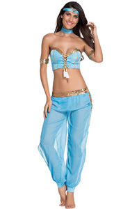Sexy Blue Dancer Sexy Belly Dancer Costume