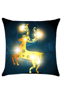 Sexy Christmas Elk Pattern Throw Pillow Cover