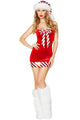 Sexy Red Candy Cane Costume