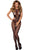 Sexy Seamless Opaque Tattoo Halter Neck Bodystocking