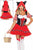 Sexy The Sexy Red Riding Wolf Womens Costume