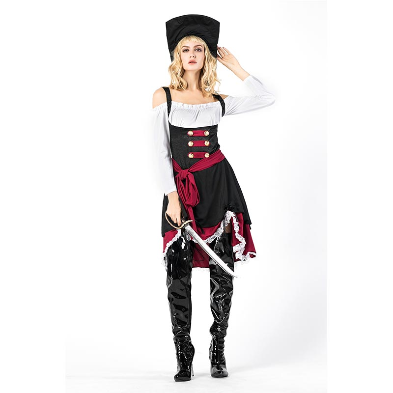 PIRATA CAPITANO #adult Costume Halloween