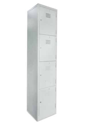 4 COMPARTMENT Locker Cabinet