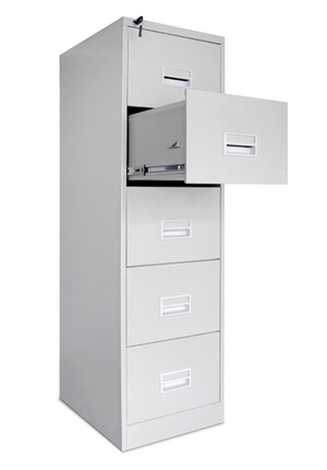 5 DRAWER Filing Steel Cabinet