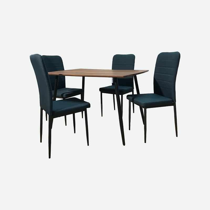 TRUFFLE Dining Set (1T + 4C)