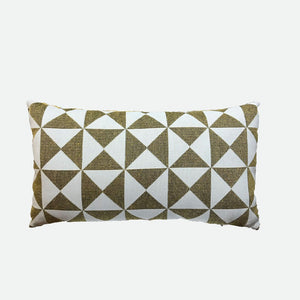 Designer Pillow (Long pillow) Abstract Brown