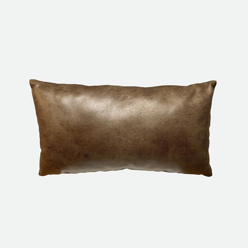 Designer Pillow (Long pillow) Stripes Brown