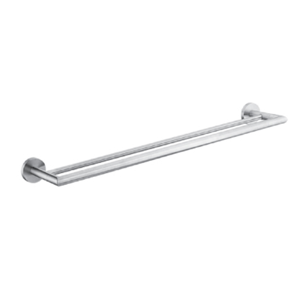 DOUBLE Towel Bar (Satin)