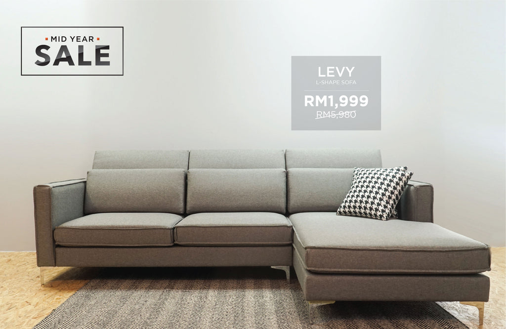 LEVY L-Shape Sofa