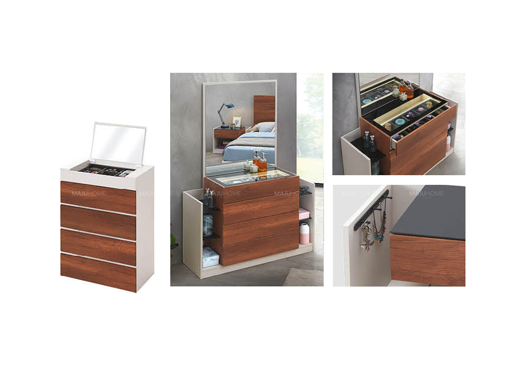 B100-W8F Designer Bedroom Set