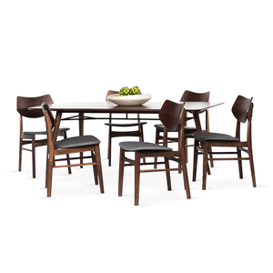 NAGOYA Dining Set (1T + 6C)