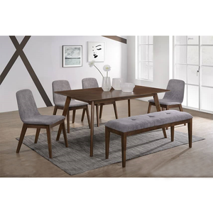 DWAYNE Dining Set ( 1T + 4C + Bench)