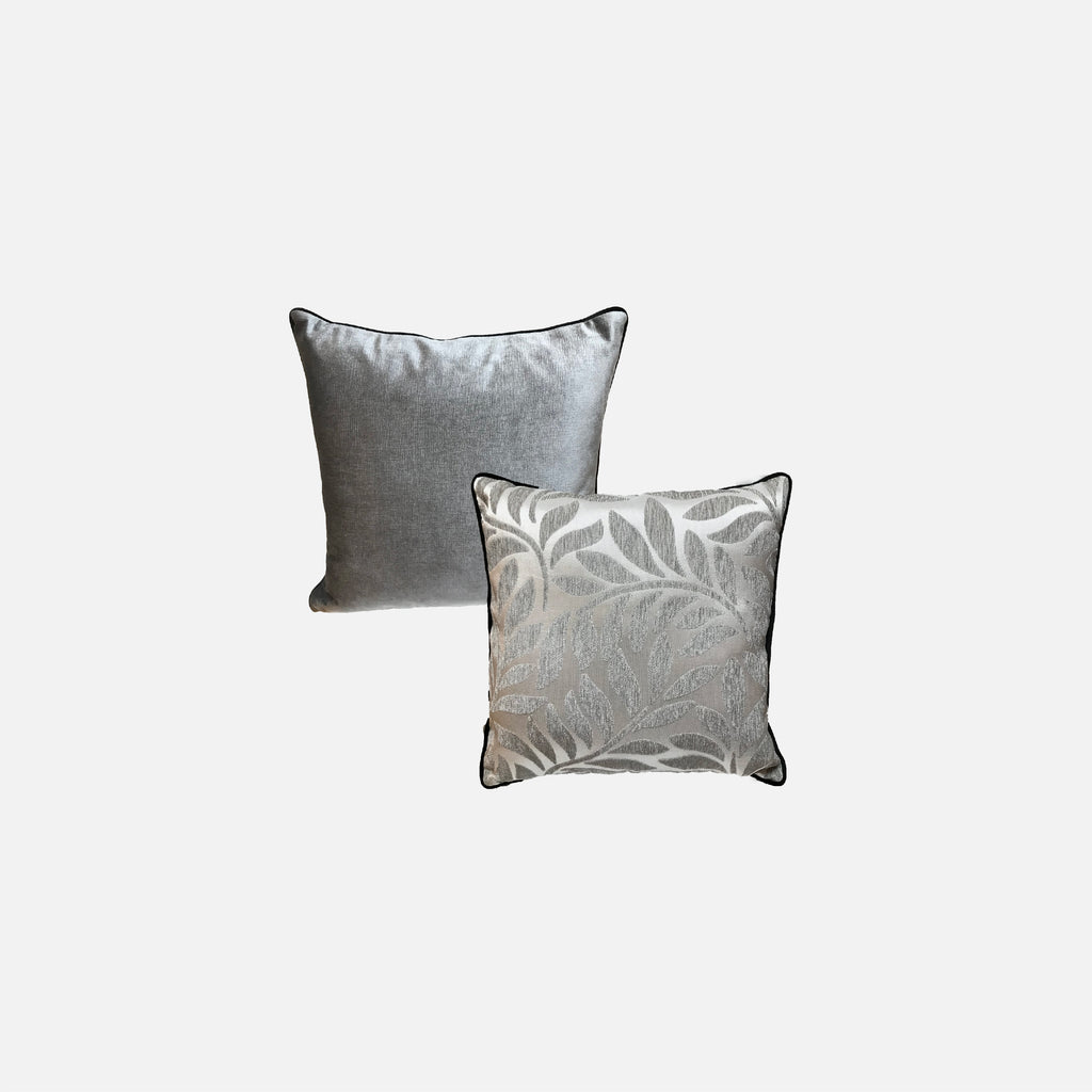 Designer Pillow (Square pillow) Leaf Pattern
